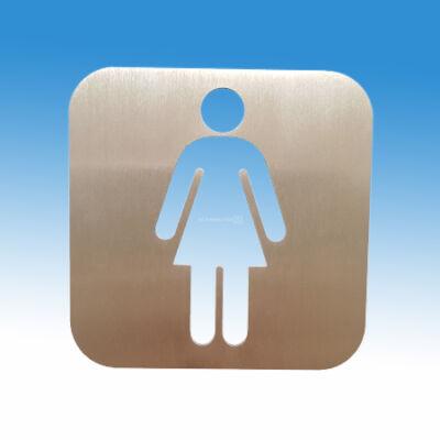 női WC piktogram, piktogram, WC piktogram